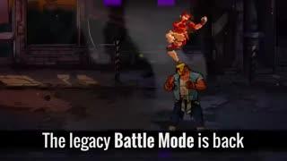 تاریخ انتشار و حالت battle mode بازی Street of Rage 4(شورش در شهر 4) - مسترگیمرز