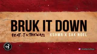 دانلود آهنگ الکترونیک  از KSHMR x Sak Noel feat. TxTHEWAY بنام Bruk It Down