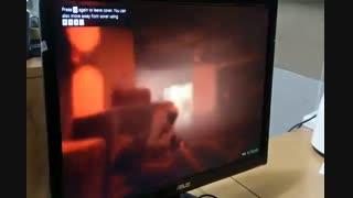 تست گیم کارت گرافیک ATI FirePro V3900 بازی GTA V