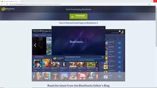 آموزض نصب اپلیکیشن و بازی های اندروید در کامپیوتر با بلو استکس
