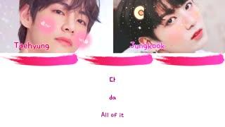 "[لیریک] کاور اهنگ"" eyes nose lips ""توسط جونگ کوک و تهیونگ::.bts.::"