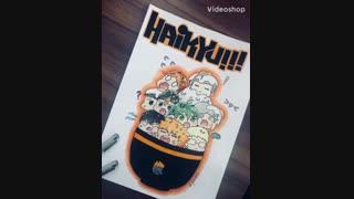نقاشیم از انیمه هایکیو