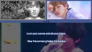 """[لیریک]کاور آهنگ"""" All of me """" توسط تهیونگ و جونگ کوک::.bts.::"""