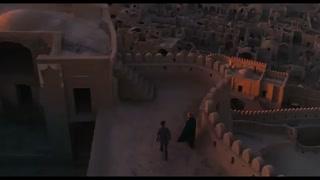 ارگ بم در فیلم صحرای تاتارها ساخته والریو زورلینی به سال 1976 میلادی