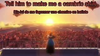 Shuumatsu nani Shitemasu ka OST Scarborough Fair Lyrics HD