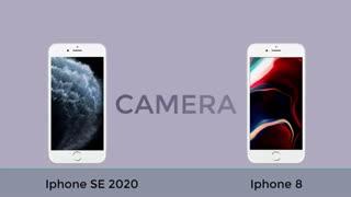 مقایسه آیفون SE 2020 با آیفون 8 اپل