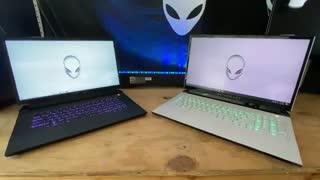 نگاه نزدیک به محصولات برند  Alienware شامل Area-51m R2 و m15/m17 R3 و Aurora R11