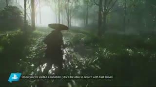 Ghost of Tsushima - گیم پلی بازی (18 دقیقه)