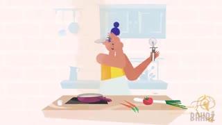 ساخت تیزر موشن گرافیک برای برند لوازم آشپزخانه
