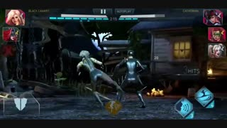 Flora Poison IVY - Black Canary - Multiverse Batwoman - In Injustice 2 Mobile