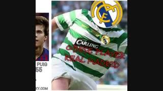 سبک وزن و سنگین وزن ترین بازیکنان رئال مادرید و بارسلونا