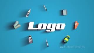 پروژه افترافکت نمایش لوگو پزشکی