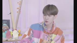 لایو Candy shop بکهیون اکسو Baekhyun EXO 20200525 برای آلبوم Delight [ ویلایو V live ]