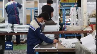 کار در کارخانه در شرایط کرونایی