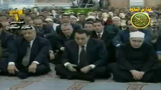 شعائر صلاة عید الفطر القارئ الطبیب الشیخ احمد نعینع وشیخ الازهر الشیخ محمد سید طنطاوى عام 2002