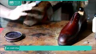 روش اصولی و درست واکس زدن کفش