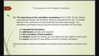 اصول و مبانی نظری ترجمه - فصل پنجم - قسمت ششم