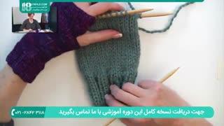 بافت دستکش و جوراب-بافت آسان دستکش بدون انگشت