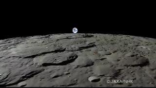 اگر ساکن ماه بودید، زمین اینگونه طلوع می کرد