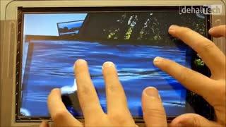 تکنولوژی چندلمسی یا مولتی تاچ multi-touch در گوشی چیست