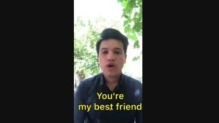 بهترین دوست به انگلیسی