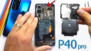 کالبدشکافی گوشی P40 Pro هوآوی