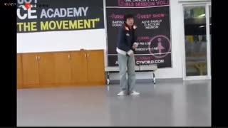ویدئوهایی از رقص J-Hope که در زمان قبل از دبیو و کاراموزیش پخش کردن