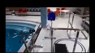آبدرمانی و مرکز ورزش های آبی گرگان (هیدروجیم در گرگان)