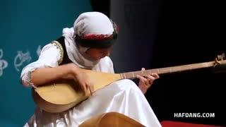 تکنوازی شورانگیزِ دوتار مهدیس ابراهیمیان