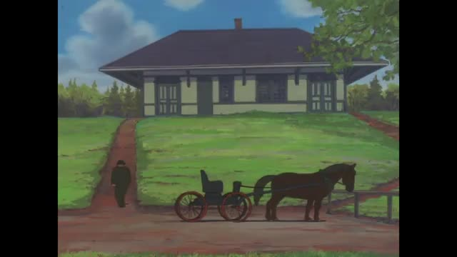 سریال کارتونی آنشرلی با موهای قرمز Anne of green gables - قسمت 1