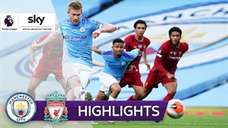 خلاصه بازی تماشایی منچسترسیتی 4 - لیورپول 0 از هفته 33 لیگ برتر انگلیس