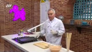 Bahoone - بهونه با سامان گلریز - طرز تهیه جوجه کباب چدنی  اموزش اشپزی دستور پخت تخفیف خرید مواد غذایی
