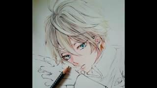 نقاشی slaine از انیمه aldonah zero