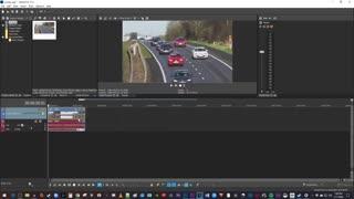 آموزش افزایش سرعت ویدئو در magix vegas pro