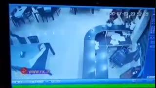 حمله وحشیانه اراذل و اوباش به رستورانی در استان مازندران