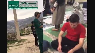 فعالیت های تیم های گروه جهادی ایقان در اردوی یاسوج