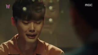 قسمت اول سریال کره ای دبلیو+زیرنویس چسبیده W 2016  با بازی لی جونگ سوک