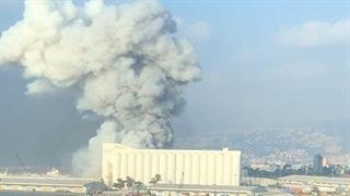 انفجار بسیار وحشتناک امروز در بیرت لبنان !!!