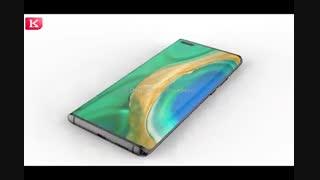 رندر سه بعدی Huawei Mate 40 Pro