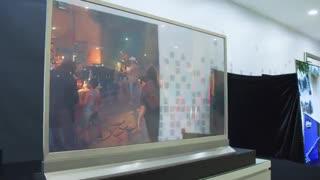 تلویزیون شفاف الجی  و چگونگی عملکرد پنل شفاف آن